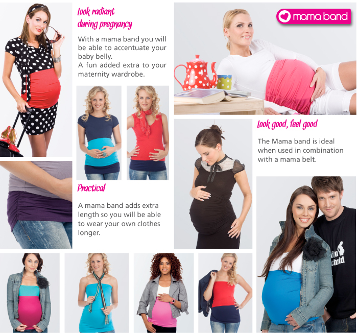 How long to wear belly band after pregnancy